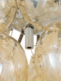 Plafoniera con sfere in vetro Gross, Ambra, Ø 30 x Alt. 20 cm