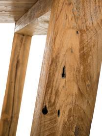 Massivholz Esstisch Lawas aus Teakholz, Teakholz, naturbelassen, Teakholz, B 180 x T 90 cm
