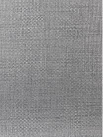 Sedia imbottita in tessuto grigio chiaro Batilda 2 pz, Rivestimento: poliestere 25.000 cicli d, Gambe: Legno di quercia massicci, Tessuto grigio chiaro, Larg. 56 x Alt. 47 cm