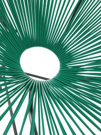 Křeslo z pleteniny z umělé hmoty Bahia, Zelená