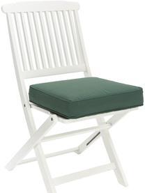 Cuscino sedia alto verde scuro Zoey, Rivestimento: 100% cotone, Verde, Larg. 40 x Lung. 40 cm