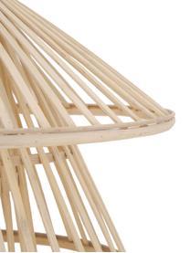 Lampada a sospensione in bambù Kamil, Paralume: bambù, Beige, nero, Ø 48 x Alt. 51 cm