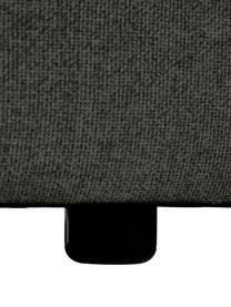 Middelste module Lennon in antraciet, Bekleding: 100% polyester De slijtva, Frame: massief grenenhout, multi, Poten: kunststof De poten bevind, Geweven stof antraciet, 89 x 119 cm