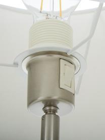 Lampa stołowa z antycznym wykończeniem Lofty, Biały, Ø 33 x W 58 cm