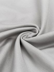 Bambus-Kopfkissenbezüge Skye in Grau, 2 Stück, 55% Bambus, 45% Baumwolle  Fadendichte 400 TC, Premium Qualität  Bambus ist hypoallergen und antibakteriell. Daher eignet das Material sich hervorragend für empfindliche Haut. Es ist amungsaktiv und absorbiert Feuchtigkeit, um so die Körpertemperatur im Schlaf zu regulieren., Grau, 40 x 80 cm