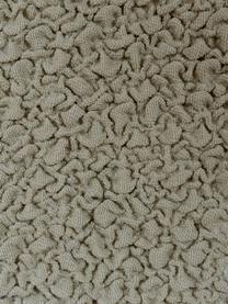 Copertura poltrona Roc, 55% poliestere, 35% cotone, 10% elastomero, Beige, Larg. 130 x Alt. 120 cm
