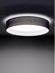 LED plafondlamp Helen in grijs, Diffuser: kunststof, Grijs, Ø 35 x H 7 cm