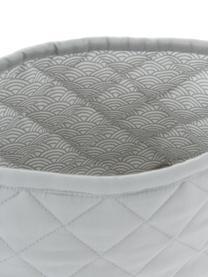 Aufbewahrungskörbe-Set Wave aus Bio-Baumwolle, 2-tlg., Bezug: 100% Biobaumwolle, Öko-Te, Grau, Sondergrößen