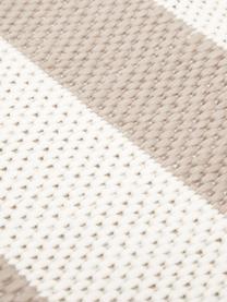 Tappeto da interno-esterno a righe Axa, Retro: poliestere, Bianco crema, beige, Larg. 200 x Lung. 290 cm  (taglia L)