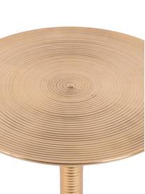 Table d'appoint ronde couleur dorée Hypnotising, Couleur dorée