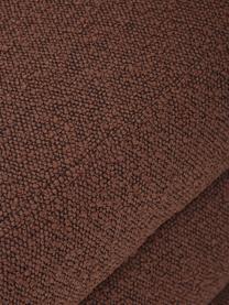 Čalouněná lavice z buklé  Alto, Hnědá