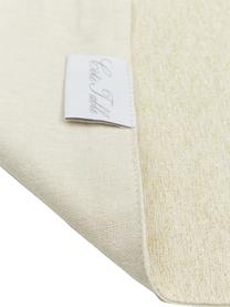 Chemin de table en coton Vialactea, Beige, couleur dorée