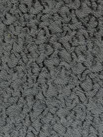 Copertura divano angolare Roc, 55% poliestere, 35% cotone, 10% elastomero, Grigio, Larg. 600 x Alt. 120 cm