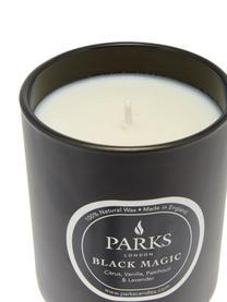 Świeca zapachowa Black Magic (cytrusy, wanilia, paczula i lawenda), Czarny, Ø 7 x W 9 cm