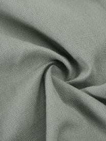 Kissenhülle Indi mit strukturierter Oberfläche in Salbeigrün, 100% Baumwolle, Salbeigrün, 30 x 50 cm