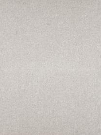 Hoekbank Fluente in beige met metalen poten, Bekleding: 80% polyester, 20% ramie , Frame: massief grenenhout, Poten: gepoedercoat metaal, Geweven stof beige, B 221 x D 200 cm