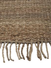 Tappeto in juta con frange taftato a mano Naturals, 100% juta, Juta, Larg. 160 x Lung. 230 cm (taglia M)