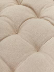 Nakładka na ławkę Gavema, Beżowy, S 40 x D 113 cm