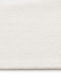 Ręcznie tkany chodnik z bawełny Agneta, Bawełna, Kremowy, S 70 x D 250 cm