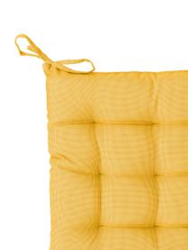 Wodoodporna poduszka na krzesło St. Maxime, Żółty, czarny, S 38 x D 38 cm