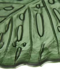 Piatto da portata in vetro Hellea, Vetro, Verde, Larg. 35 x Alt. 2 cm