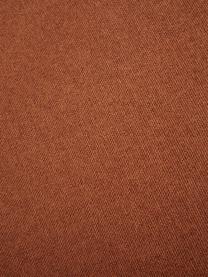 Narożna sofa modułowa Lennon, Tapicerka: poliester Dzięki tkaninie, Stelaż: lite drewno sosnowe, skle, Nogi: tworzywo sztuczne Nogi zn, Terakota, S 238 x G 180 cm