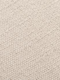 Dünner Baumwollteppich Agneta, handgewebt, 100% Baumwolle, Beige, B 200 x L 300 cm (Größe L)