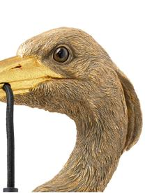 Applique fatto a mano con spina Heron, Marrone, Larg. 26 x Alt. 62 cm