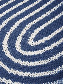 Tapis d'extérieur ethnique Arches, Bleu, blanc