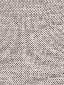 Ecksofa Cucita (3-Sitzer) in Beige mit Metall-Füßen, Bezug: Webstoff (Polyester) Der , Gestell: Massives Kiefernholz, Füße: Metall, lackiert, Webstoff Beige, B 262 x T 163 cm