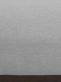 Ecksofa Brooks in Grau mit Metall-Füßen, Bezug: Polyester 35.000 Scheuert, Gestell: Kiefernholz, massiv, Rahmen: Kiefernholz, lackiert, Füße: Metall, pulverbeschichtet, Webstoff Grau, B 315 x T 148 cm