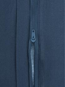 Federa arredo in cotone blu con motivo cicogne Gracia, 100% cotone, Blu, Larg. 40 x Lung. 40 cm