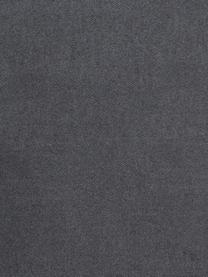Einfarbiges Plaid Plain in Dunkelgrau, 50% Baumwolle, 50% Acryl, Dunkelgrau, 140 x 180 cm