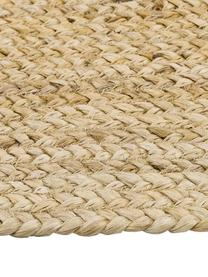 Handgemaakte juten loper Sharmila, Beige, 80 x 300 cm