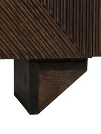 Sideboard Louis mit Türen aus massivem Mangoholz, Mangoholz, lackiert, 177 x 75 cm