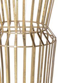 Duży stojak na doniczkę z metalu Gold, Metal powlekany, Odcienie mosiądzu, Ø 28 x W 50 cm