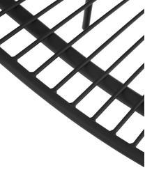 Gartenstühle Tirana aus Metall, 2 Stück, Metall, pulverbeschichtet, Schwarz, B 56 x T 54 cm