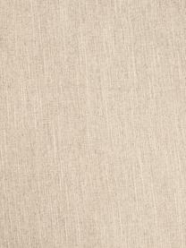 Divano a 3 posti in tessuto beige scuro Melva, Rivestimento: 100% poliestre Il rivesti, Struttura: pino massiccio, certifica, Tessuto beige scuro, Larg. 238 x Alt. 101 cm