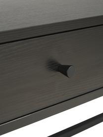 Offener Kleiderschrank Pacey in Schwarz, Gestell: Metall, pulverbeschichtet, Schwarz, 150 x 180 cm