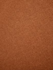 Modulares Ecksofa Lennon in Terrakotta, Bezug: 100% Polyester Der strapa, Gestell: Massives Kiefernholz, Spe, Füße: Kunststoff Die Füße befin, Webstoff Terrakotta, B 327 x T 180 cm