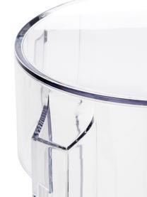 Sgabello da bar Charles Ghost, Policarbonato, Trasparente, Ø 46 x A 65 cm