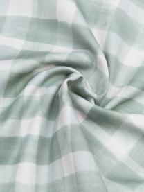 Housse de coussin 50x50 réversible Check par Candice Gray, Vert