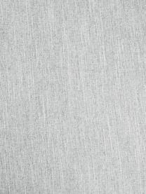 Divano 3 posti in tessuto grigio chiaro Melva, Rivestimento: poliestere Con 35.000 cic, Struttura: legno di pino massiccio, , Piedini: legno di pino, Tessuto grigio chiaro, Larg. 240 x Prof. 101 cm