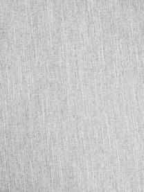Bank Melva (3-zits) in lichtgrijs, Bekleding: polyester, Frame: massief grenenhout, spaan, Poten: grenenhout, Geweven stof lichtgrijs, B 240 x D 101 cm