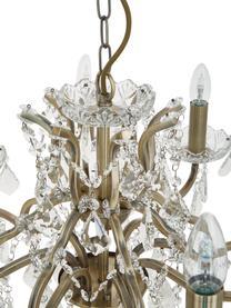 Żyrandol Paris, Złoty, transparentny, Ø 70 x W 43 cm