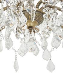 Kronleuchter Paris, Gold, Transparent, Ø 70 x H 43 cm