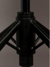 Kunstleder-Bürodrehstuhl Franky, höhenverstellbar, Bezug: Kunstleder (Polyurethan), Beine: Metall, pulverbeschichtet, Rollen: Kunststoff, Braun, B 68 x T 68 cm