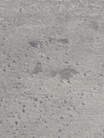Scrivania con gambe a cavalletto Max, Piano d'appoggio: truciolato con struttura , Gambe: metallo verniciato, Grigio, Larg. 140 x Prof. 75 cm