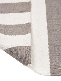 Tappeto in cotone Blocker, 100% cotone, Grigio, Larg. 50 x Lung. 80 cm