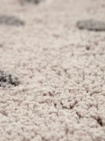 Tappeto gufo in cotone Sweet Pepa, Cotone, Marrone, beige, Larg. 95 x Lung. 120 cm